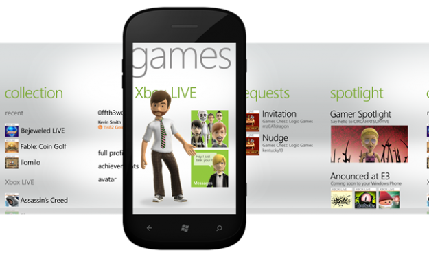 Windows Phone Games HUB